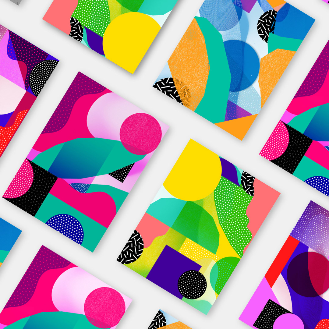 Super Fresh and Colorful Patterns by Atelier Irradié