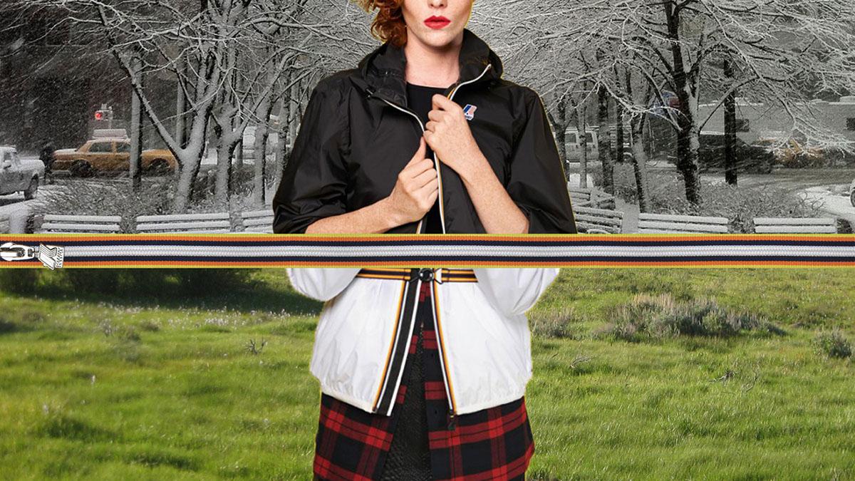 bandeapart KWAY Style france Original Mode historique Couleur dégradé