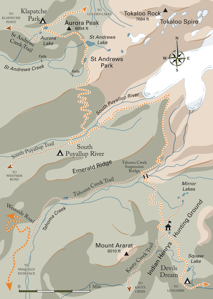 Devils Dream Trail Map