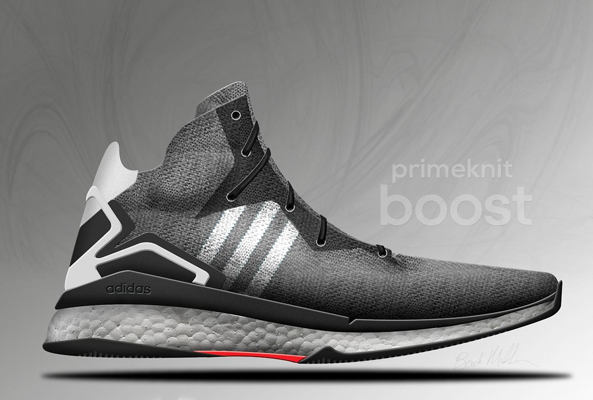 Adidas Primeknit Boost Basketball on Behance 44b4f8f06
