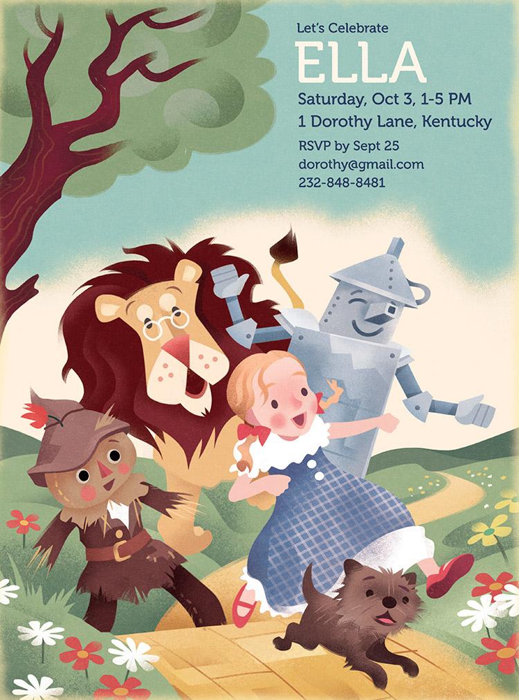 Kids Birthday Card Designs On Behance
