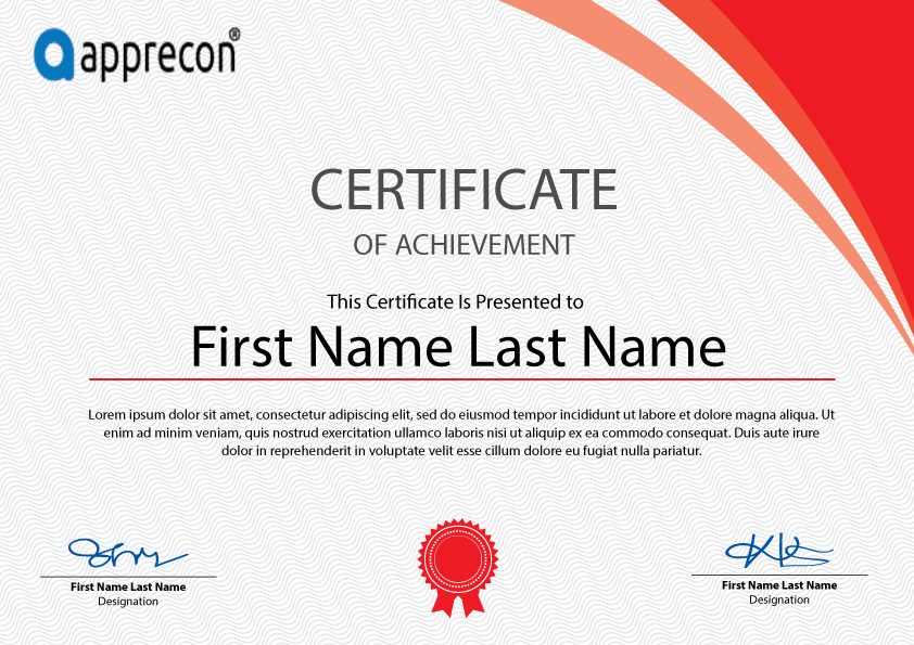 Freebies Certificate Template Free Download on Behance – Training Certificate Template Free Download