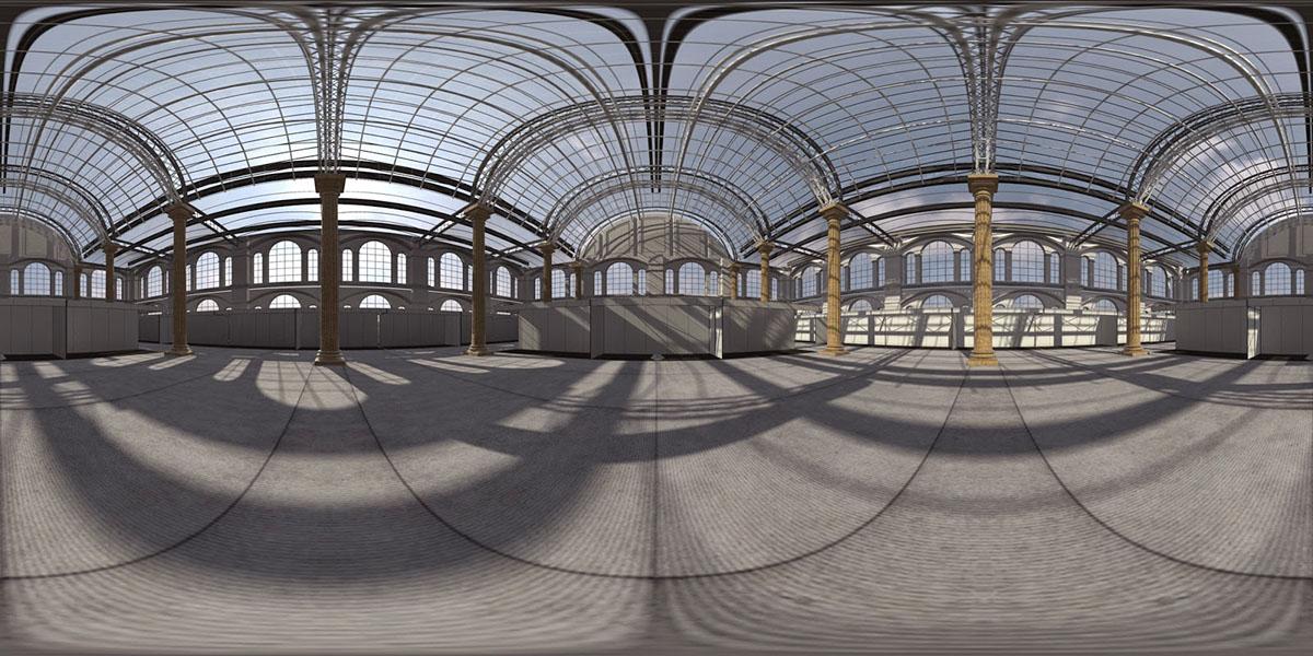 Free Hdri Hall Interior On Behance