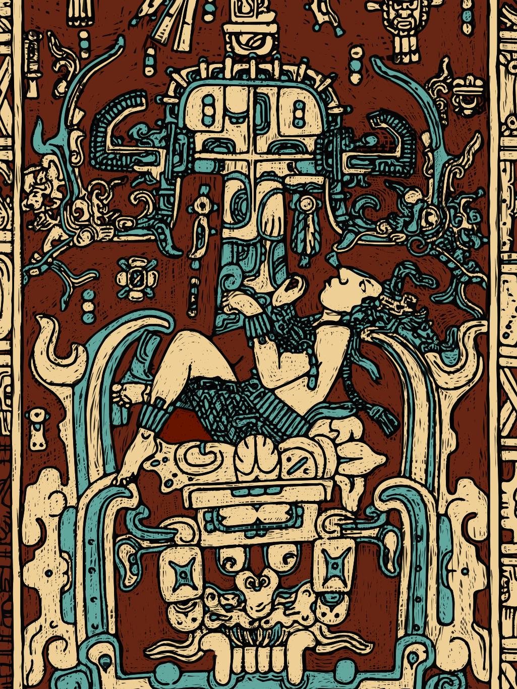 Mayan Astronaut On Behance
