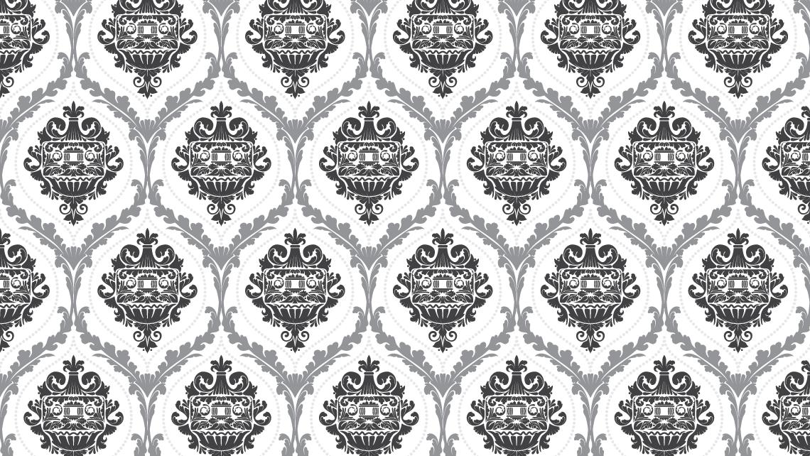 punk damask pattern mixtape vector ILLUSTRATION