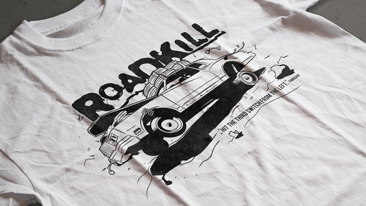 MotorTrend's Roadkill Tshirt (Episode 39) on Behance