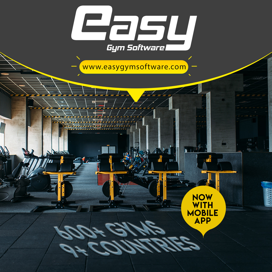 easy gym software promotion banner
