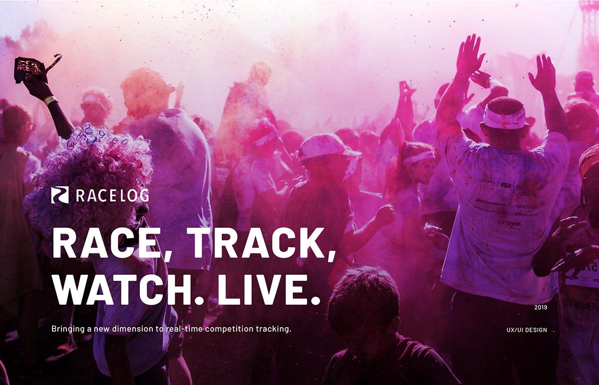 Racelog - live tracking app on Wacom Gallery