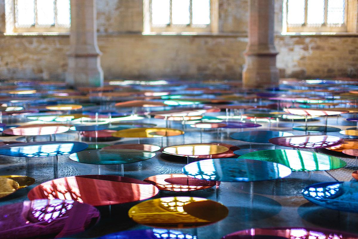 installation art visual art sculpture colour immersive environment light light art light installation colour installation vivid mirror acrylic