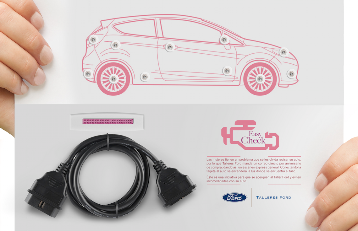 Ford direct mail on behance