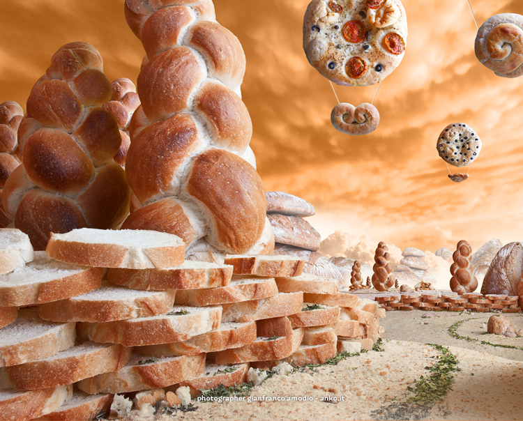 Food  bread buns making of backstage Foodscape Foodscapes Italy Landscape Carl Warner