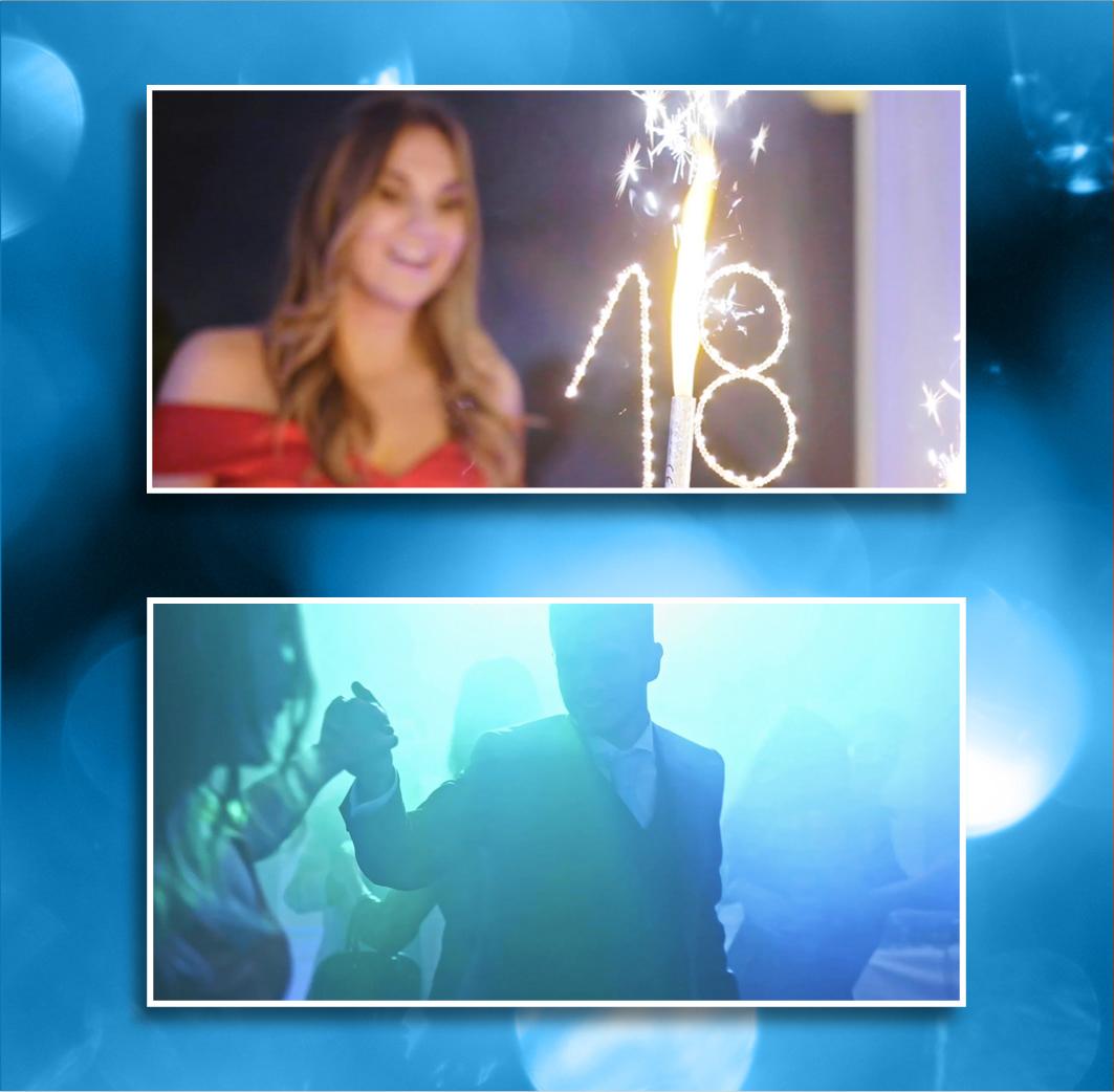 Birthdayvideo cinematography colorcorrection colorgrading eighteenthvideo eventreportage eventvideo reportage video videoediting