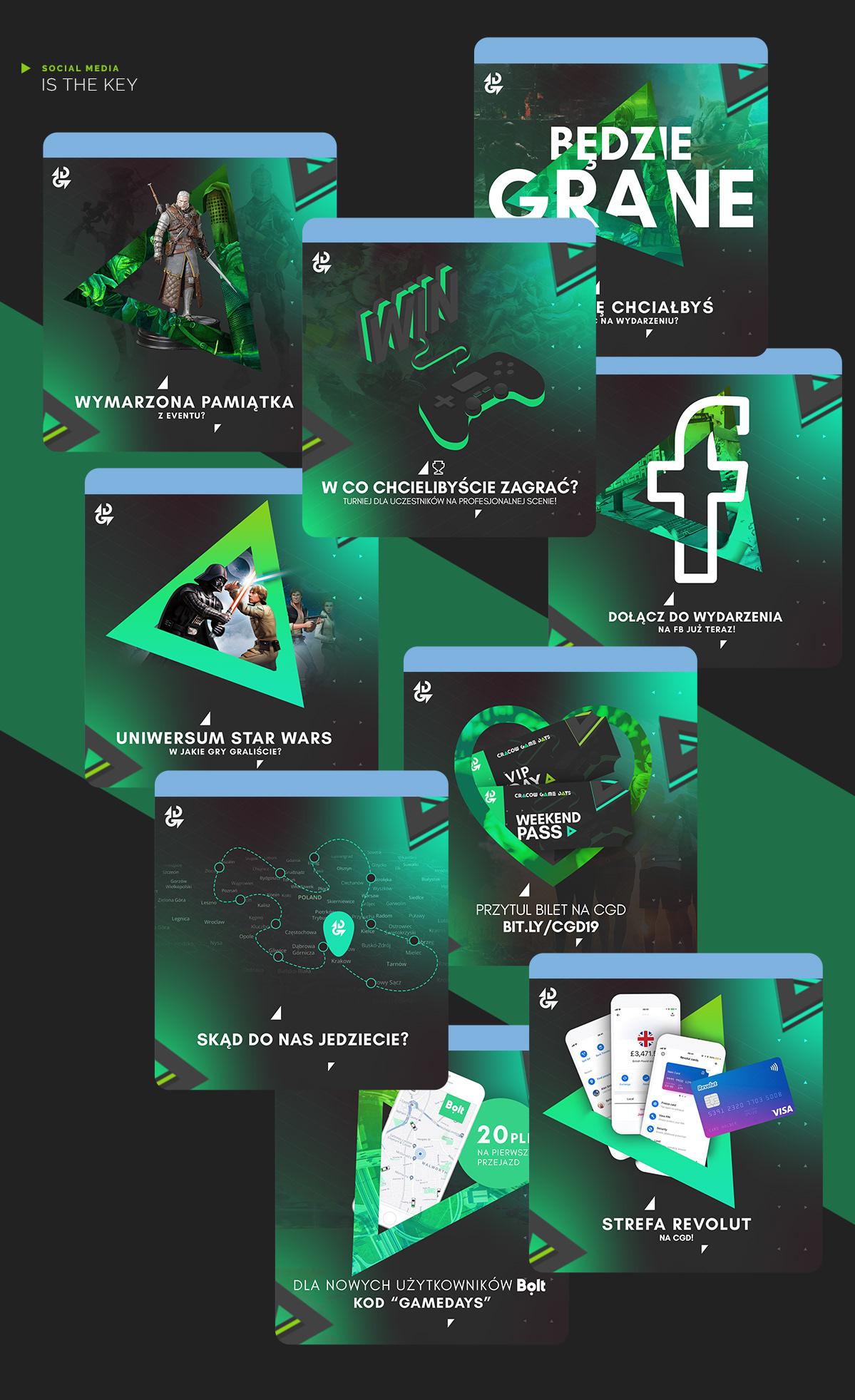Games games fair gameing play icons facebook post social media identifier banner bag