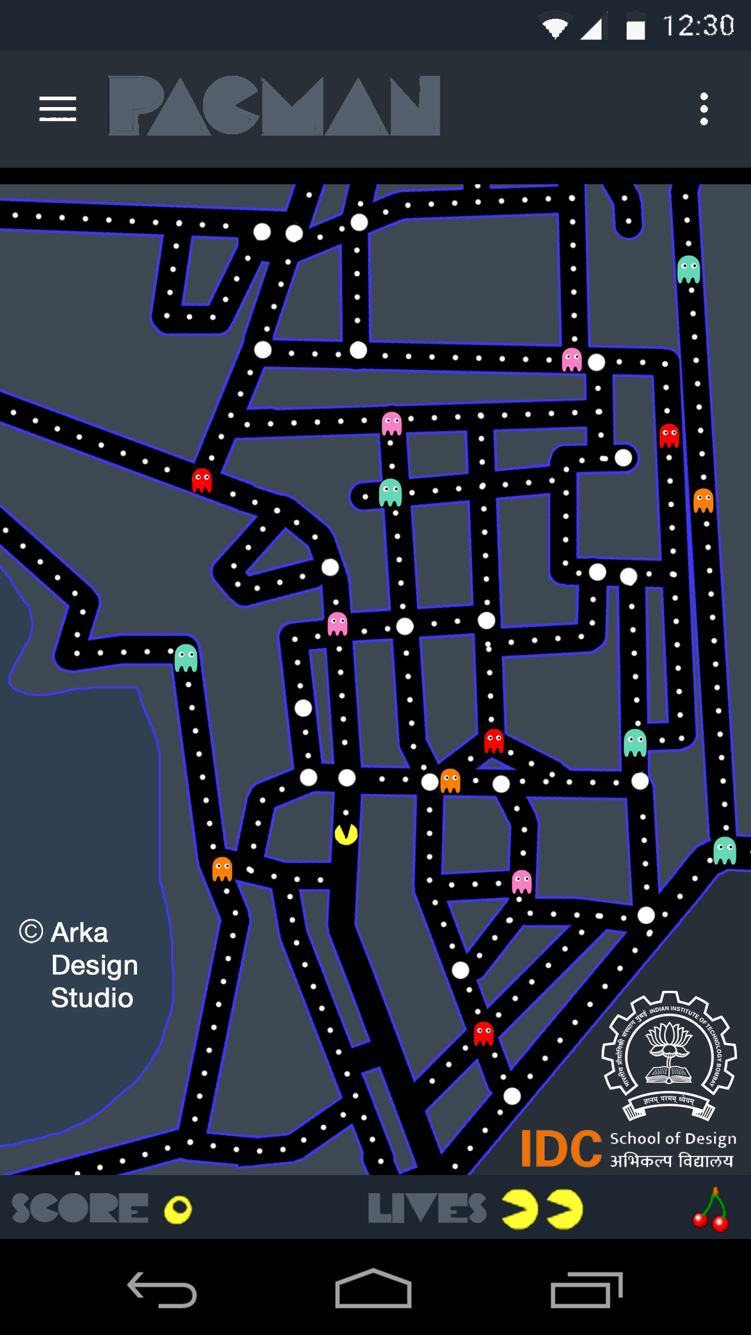 IIT ay Campus Map Pacman on Behance Iit Campus Map on ic campus map, icar campus map, google campus map, samsung campus map, harvard campus map, icc campus map, intel campus map, nic campus map, cabrillo high school campus map, main campus map, engineering campus map, microsoft campus map, jnu campus map, maine campus map, ssc campus map, motorola campus map, umc campus map, yale campus map, itc campus map, mit campus map,