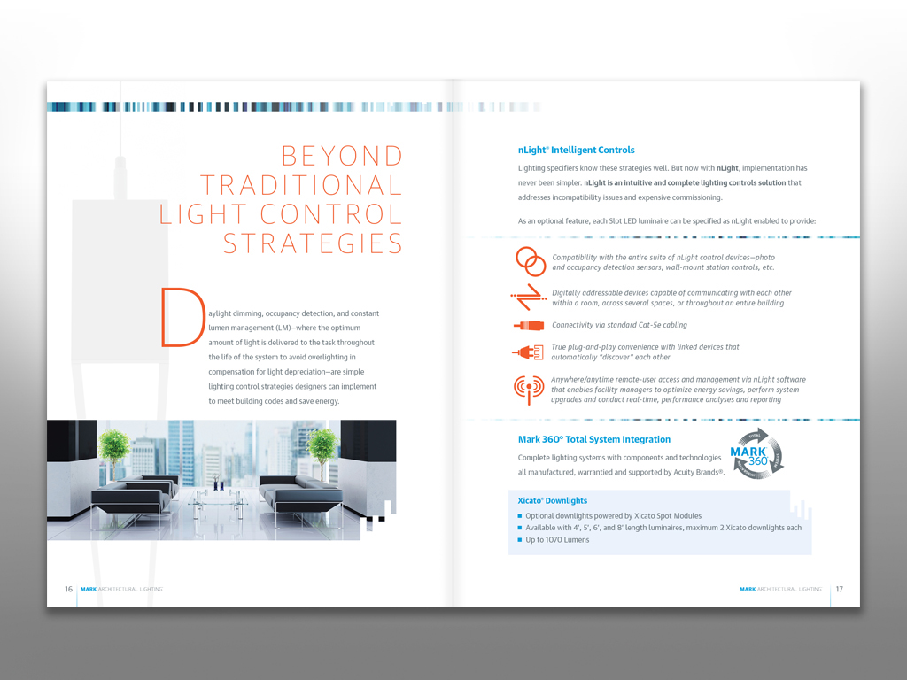 MARK Architectural Lighting Brochure on Behance