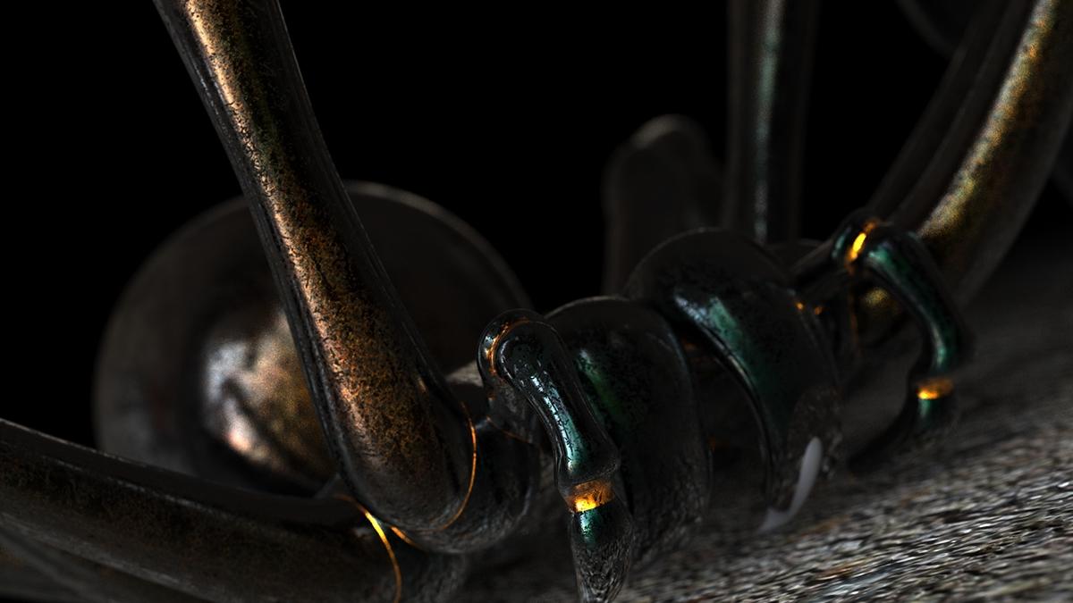 insect modeling organic modeling rhino