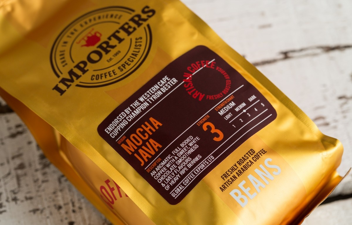 Importers Coffee Bags on Behance