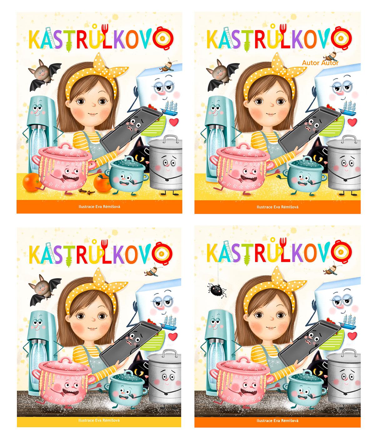 Character design  children illustration children's book cooking cute digital illustration ilustracion kitchen pot