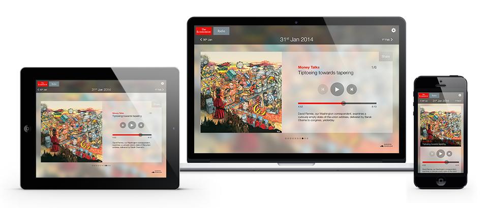 ios android responsive web design UI ux mobile tablet desktop publishing   Radio