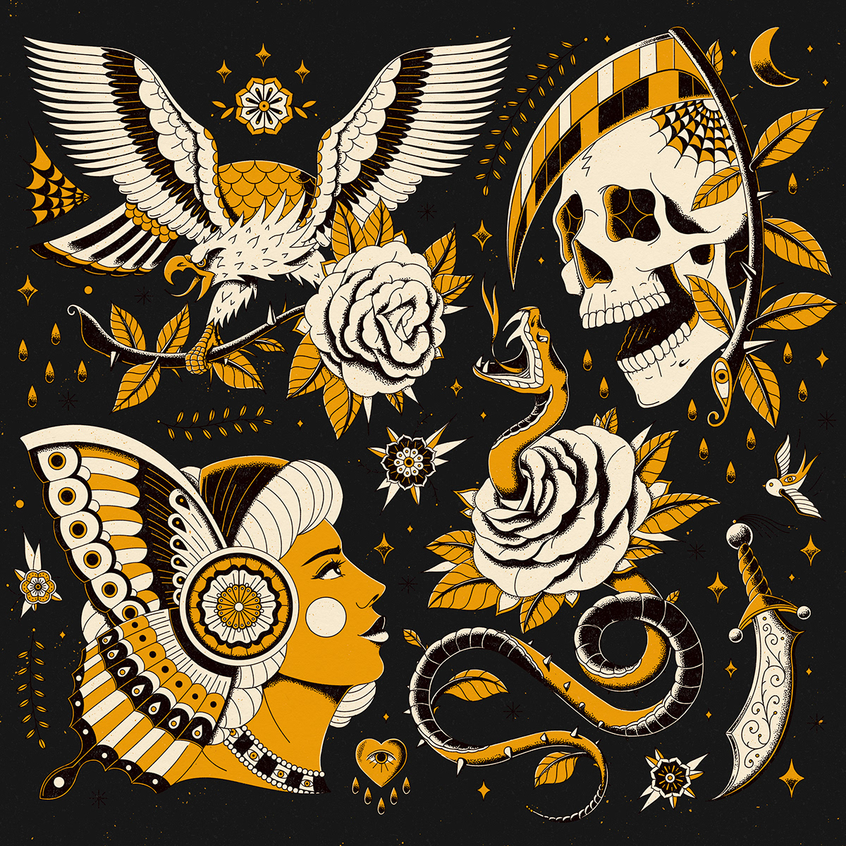 business Clothing fabric Fashion  ILLUSTRATION  pattern suit tattoo textile wedding