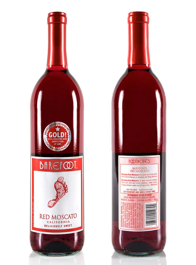 Barefoot Wine on Behance