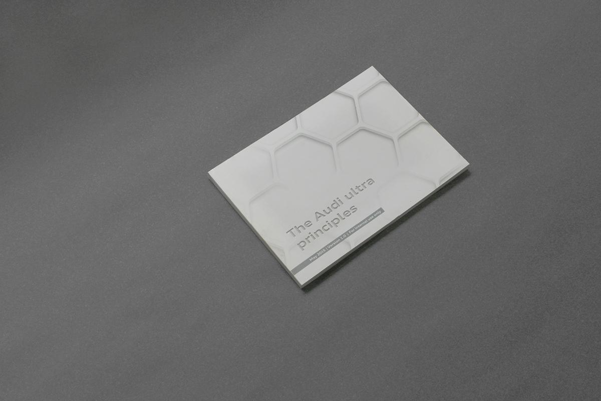 brand identity Audi guideline identity print