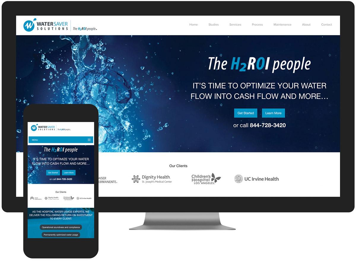 Water Saver Solutions Website