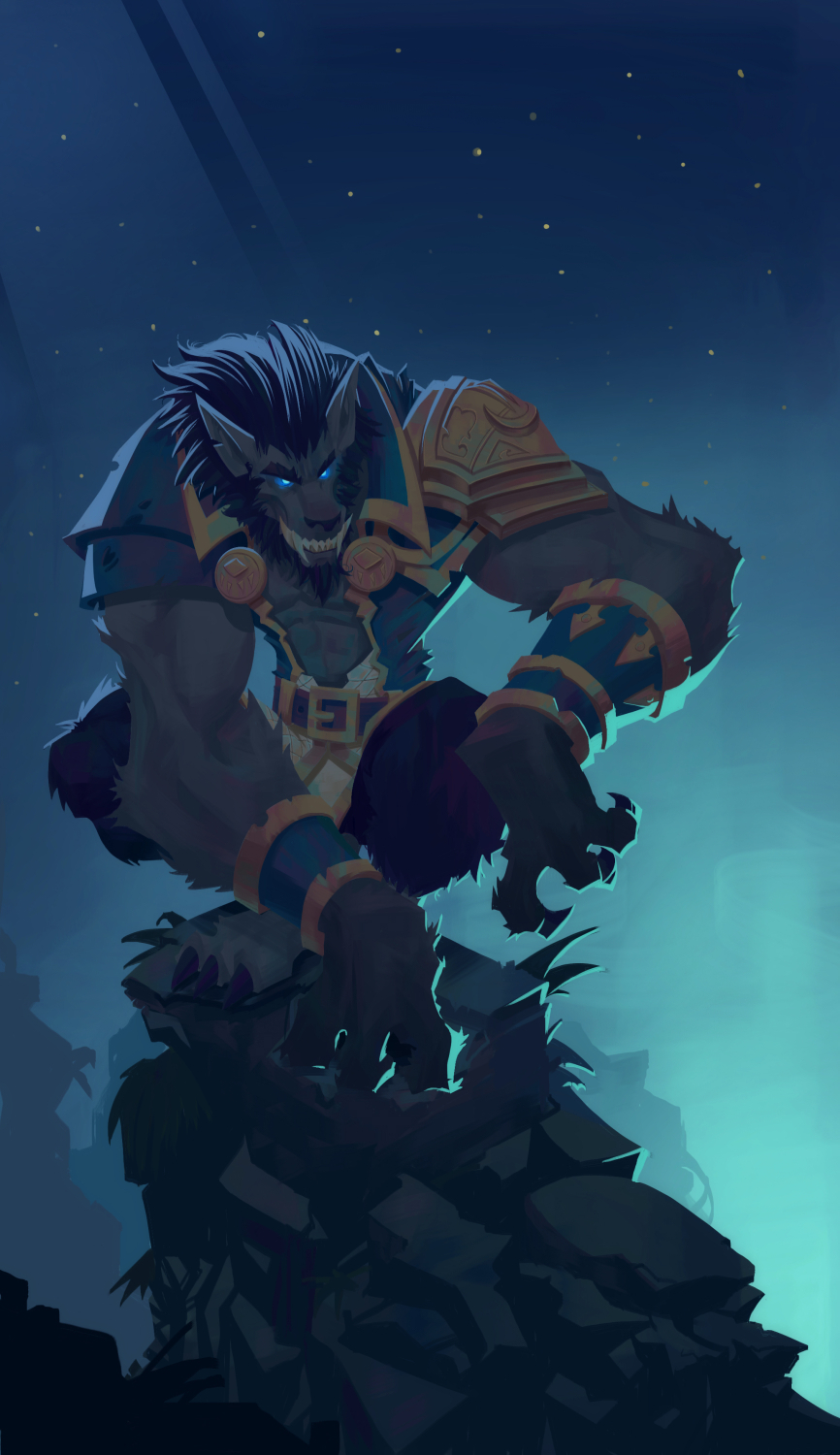Genn Greymane fan art on Behance - 694.7KB