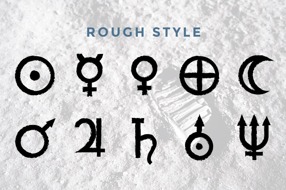 Astrology Planet Symbols On Behance