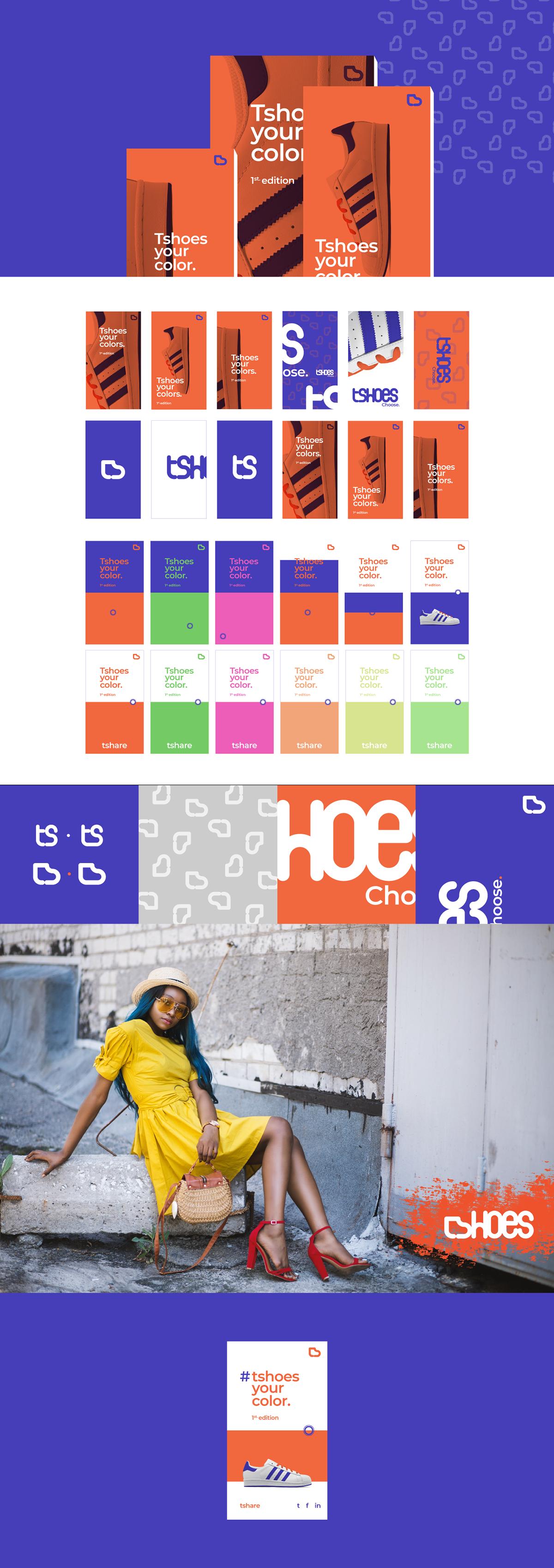 branding  logo tshoes tshoe typography   motion design app design app animation  clothes
