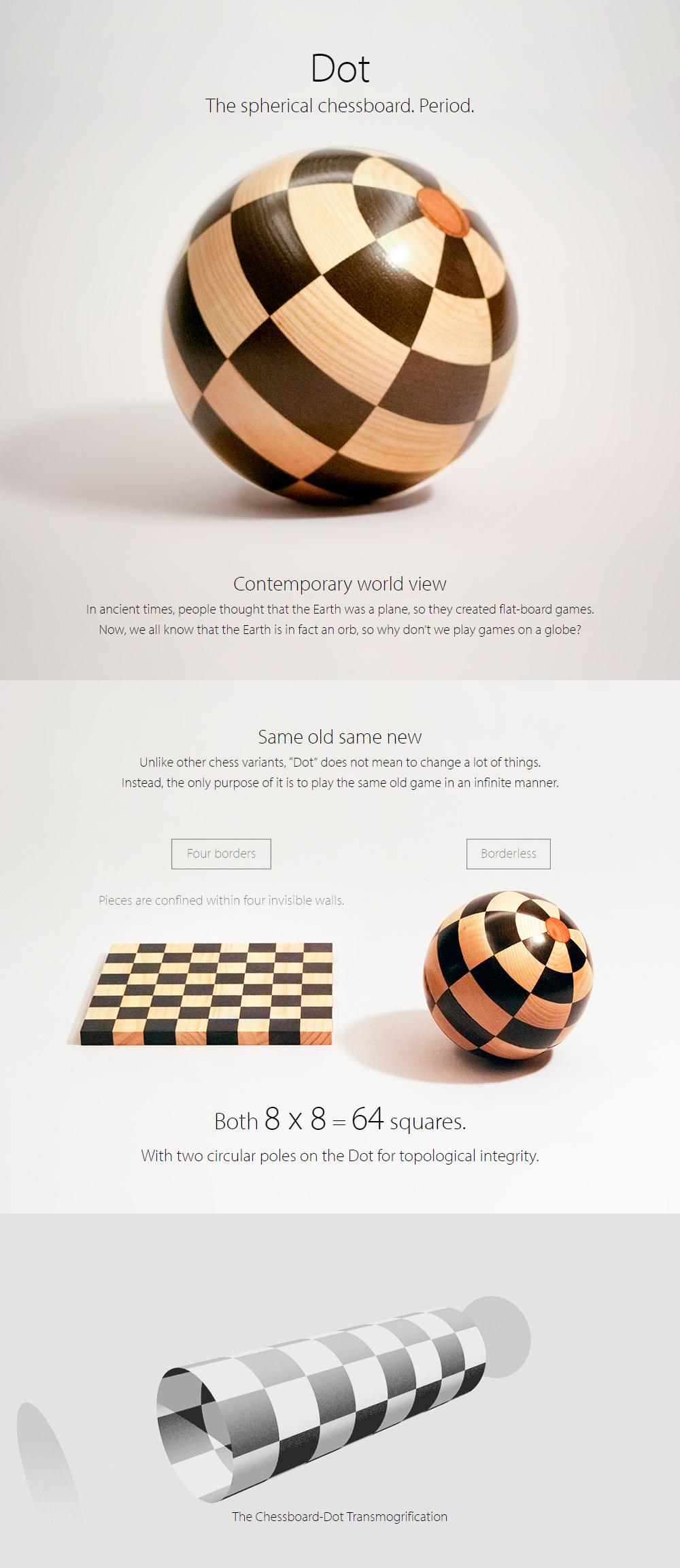 Chess on the Dot (Website) on Behance