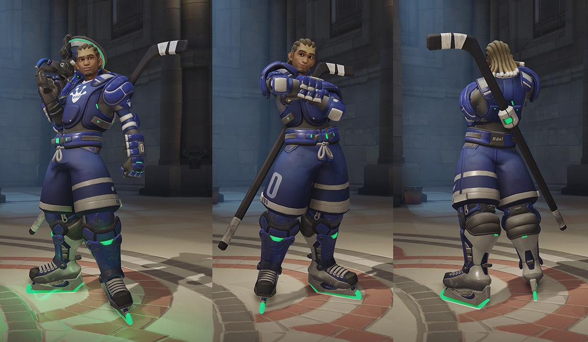 Lucio Hockey Skin
