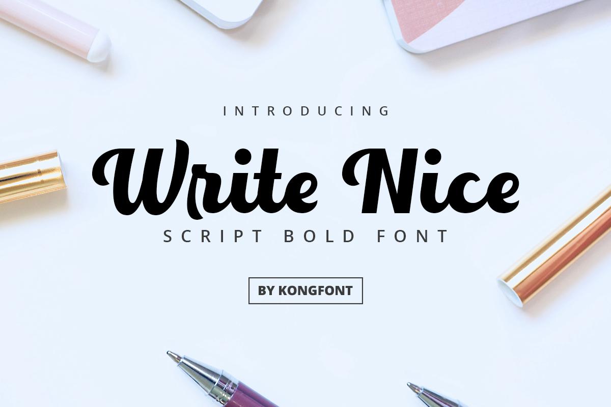 bold branding  designfont font lettering Logotype Script typewriter write nice
