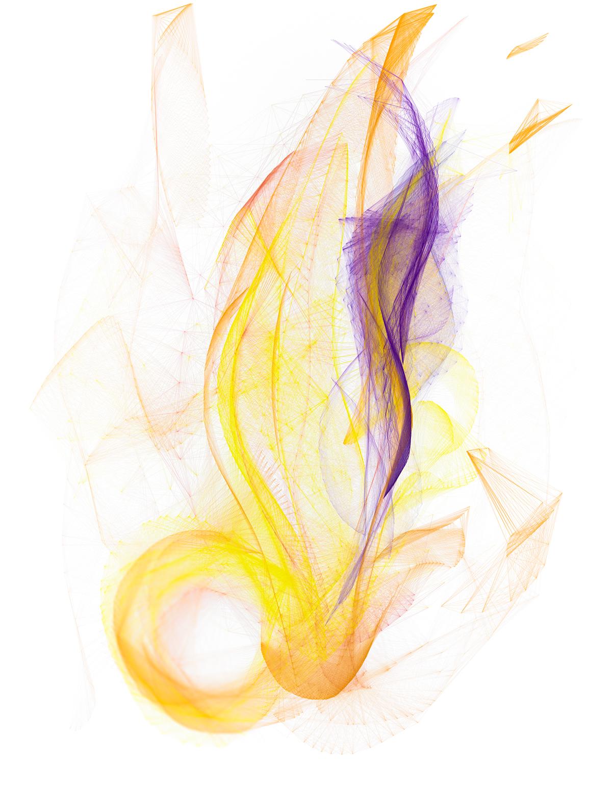 ink vector color geometry line art