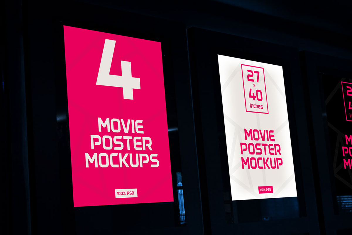 Movie Poster Mockups On Behance