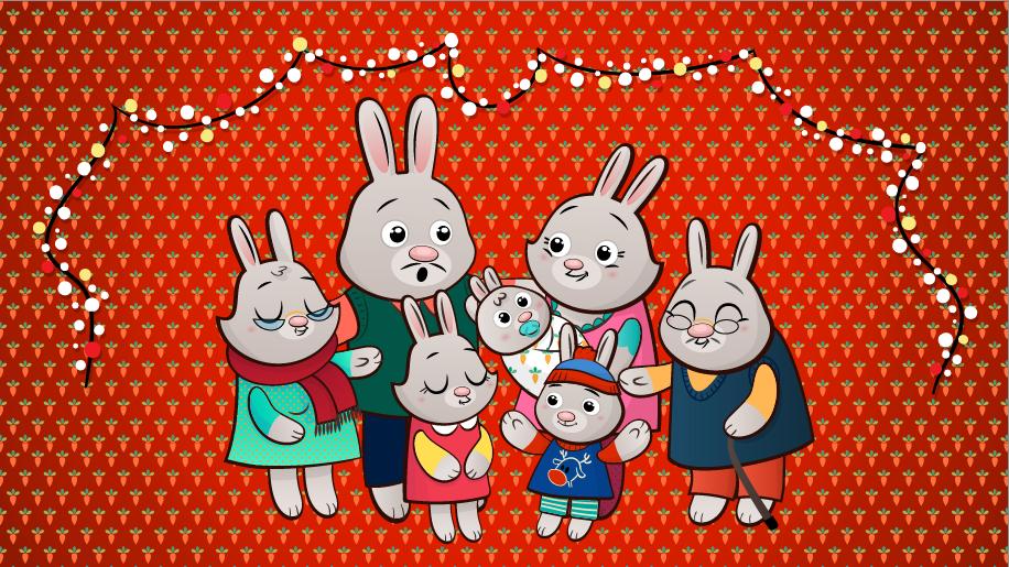 Image may contain: cartoon and rabbit