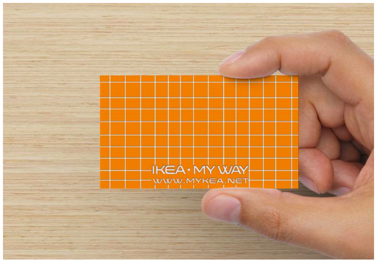 mykea,business card,logo
