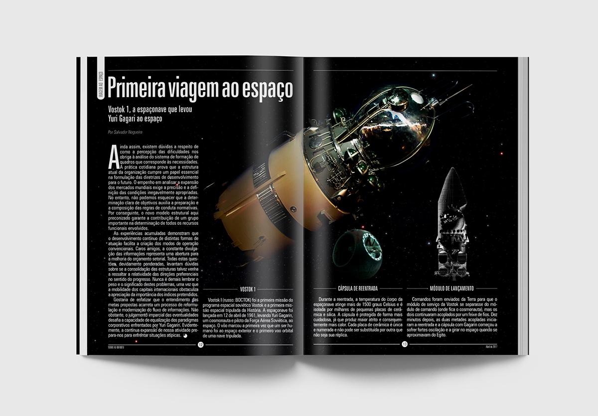 planetas revista yuri gagarin Mars 500 espaço ciencia Programa Espacial Space  magazine