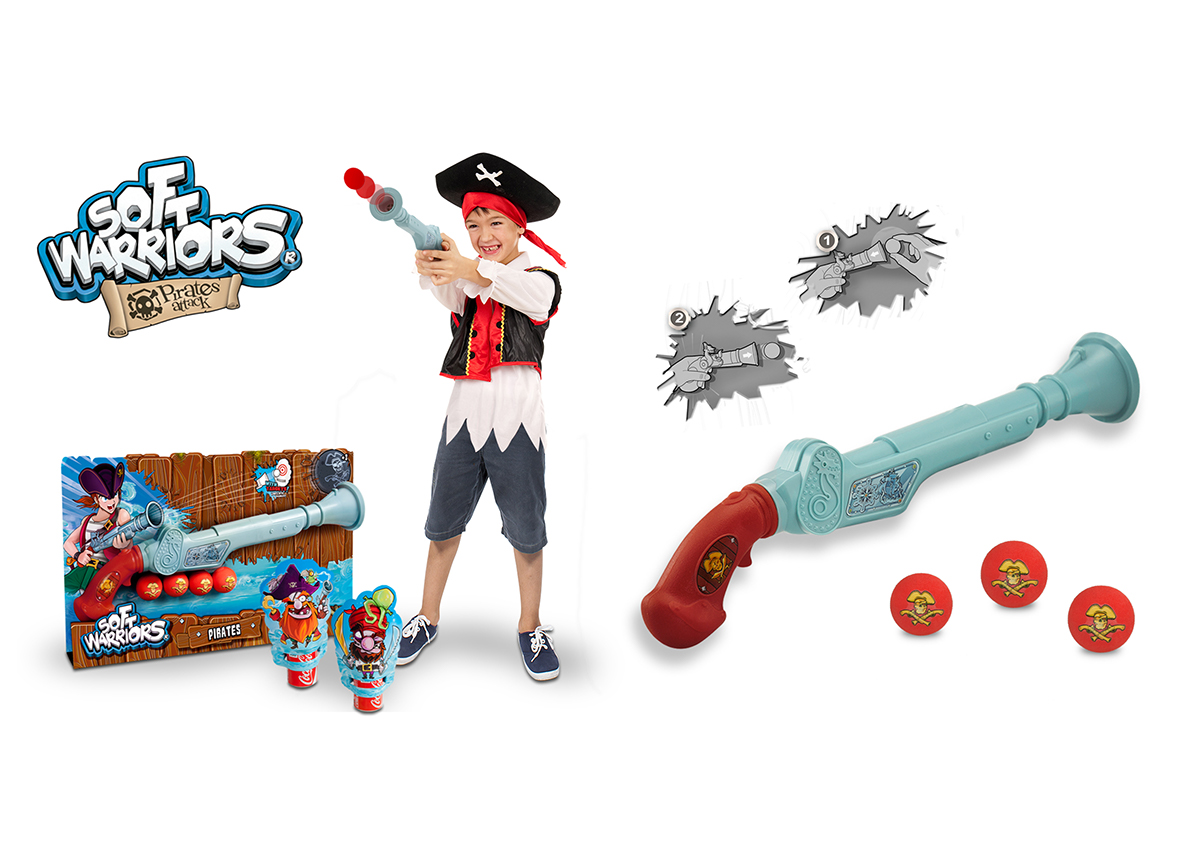 Pirate Gun on Behance