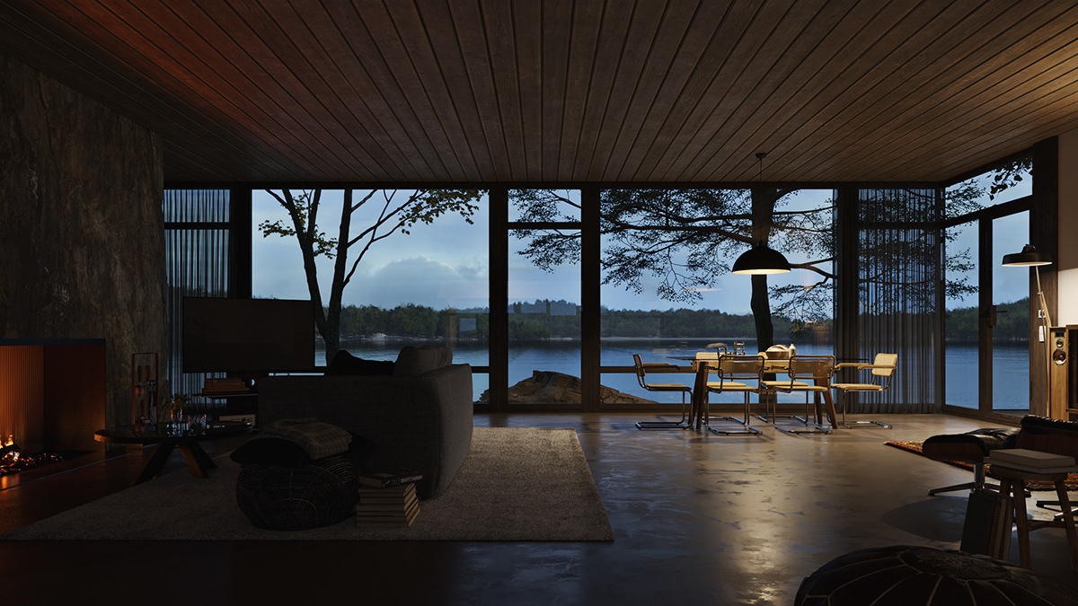 architecture,Render,corona renderer,CGI,visualization,Residence,Quixel,MegaScans