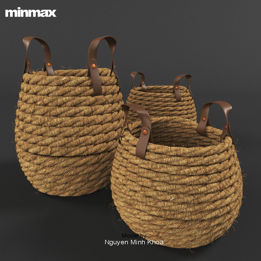 Image may contain: basket, container and indoor