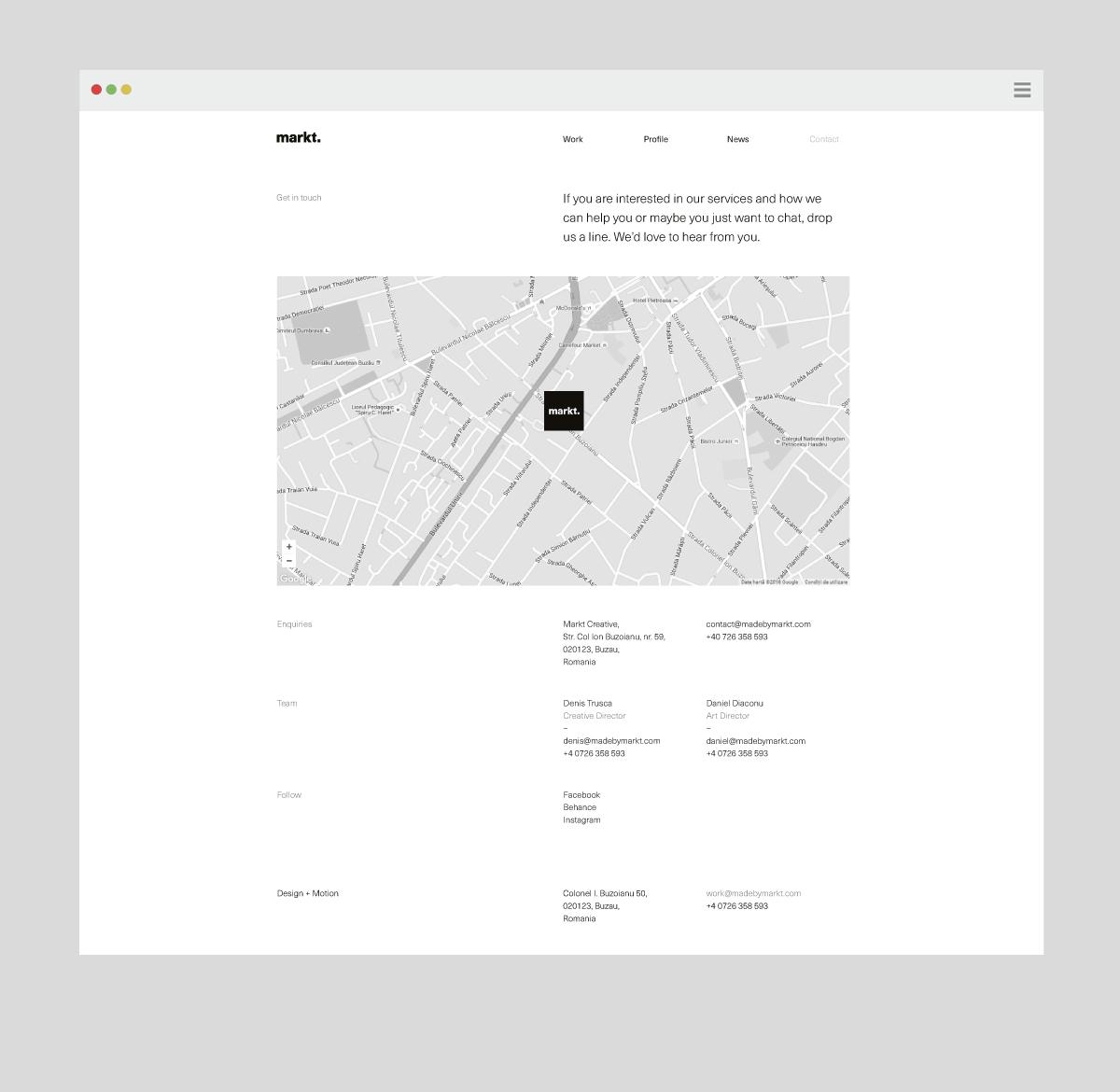 brand identity Business Cards Webdesign wordmark