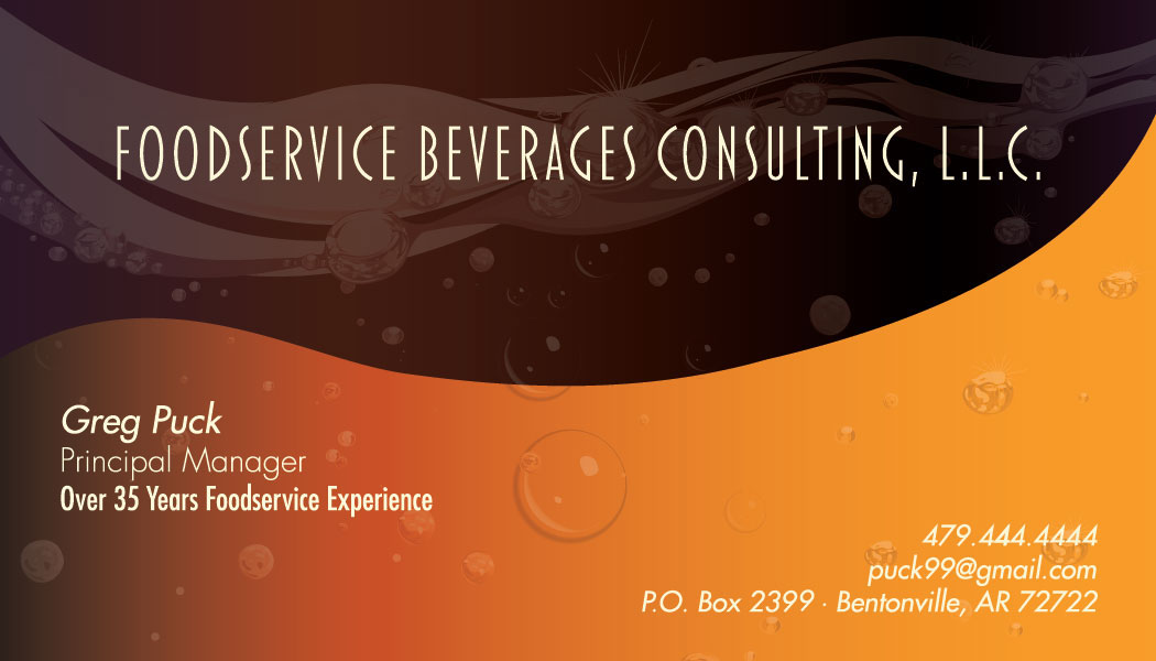 Business card beverages consulting on behance reheart Image collections