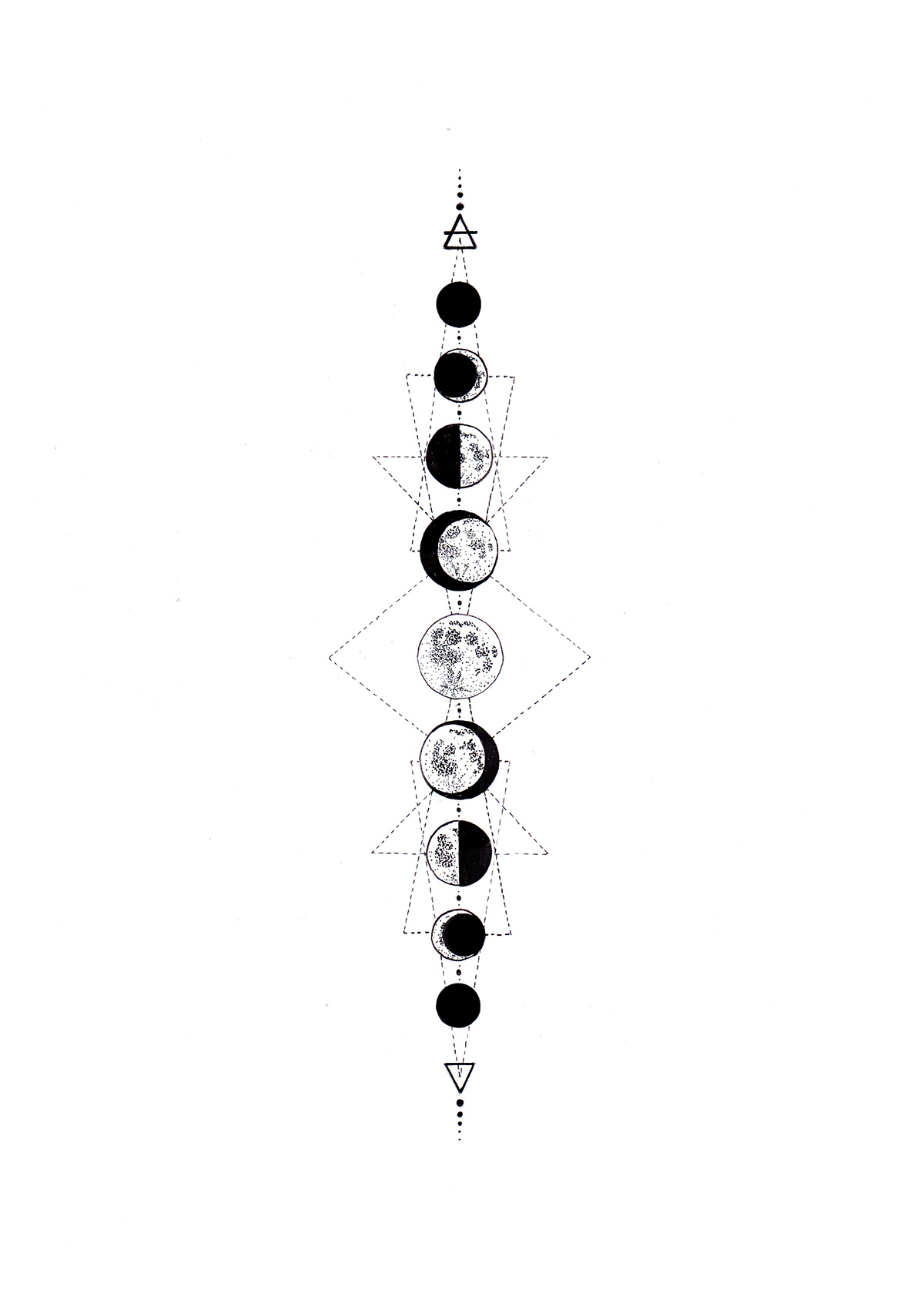 Moon Phases on Behance