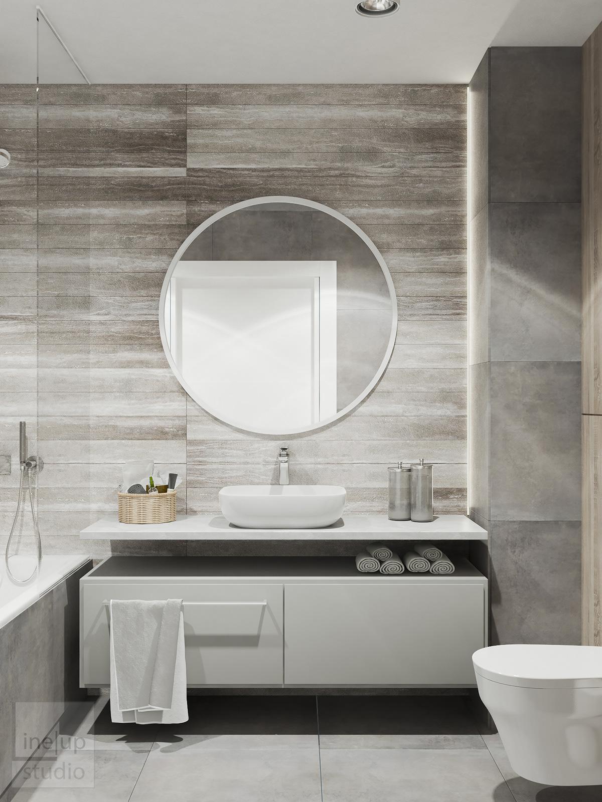 3dsmax vray Vizualization Project Interior design apartment poland