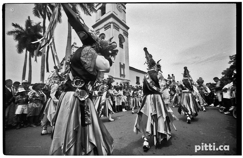 Corpus Christi panama los santos diablos Diablicos Cucuas lucha devil mithology Photography