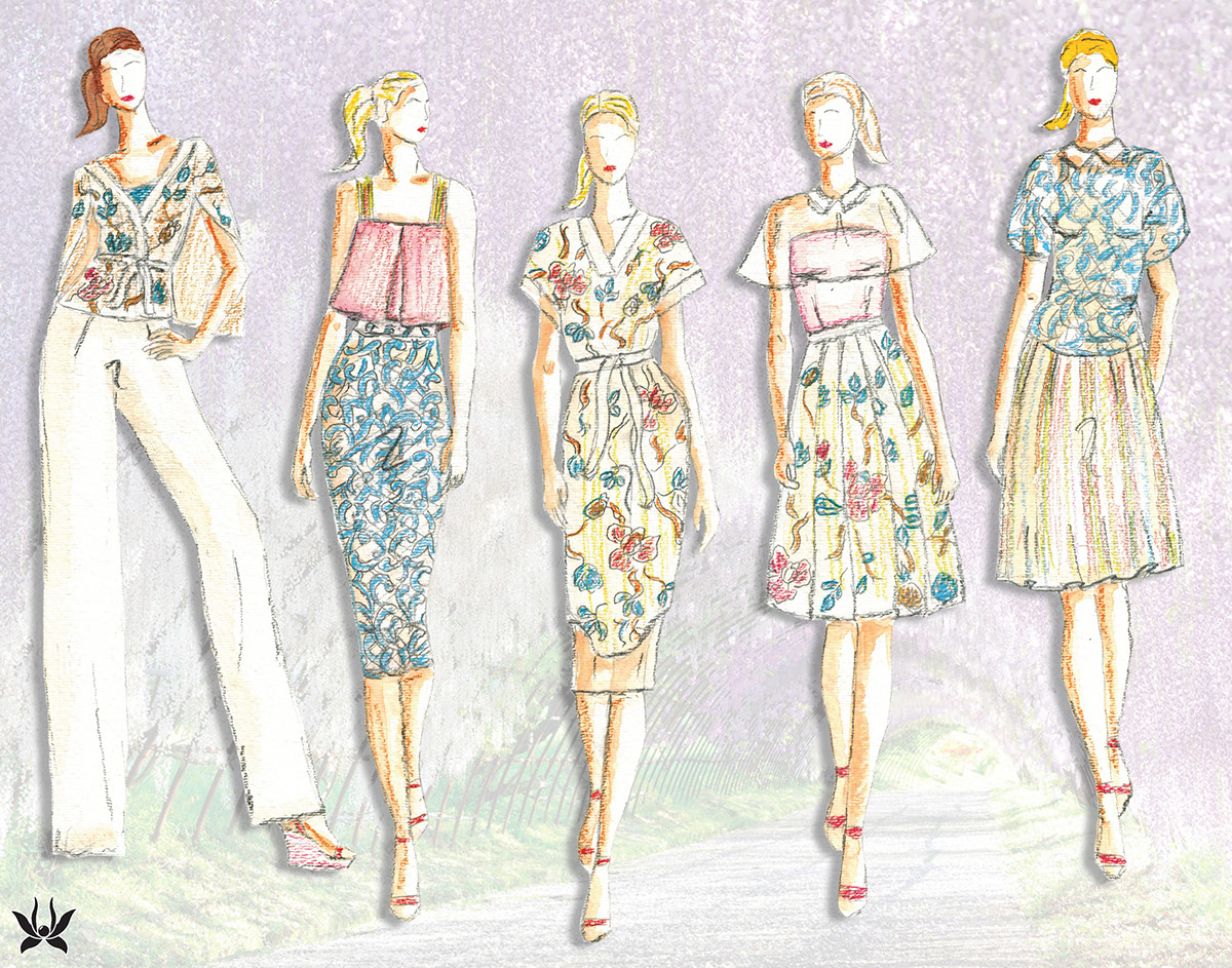 Hanami Fashion Design Development On Aiga Member Gallery