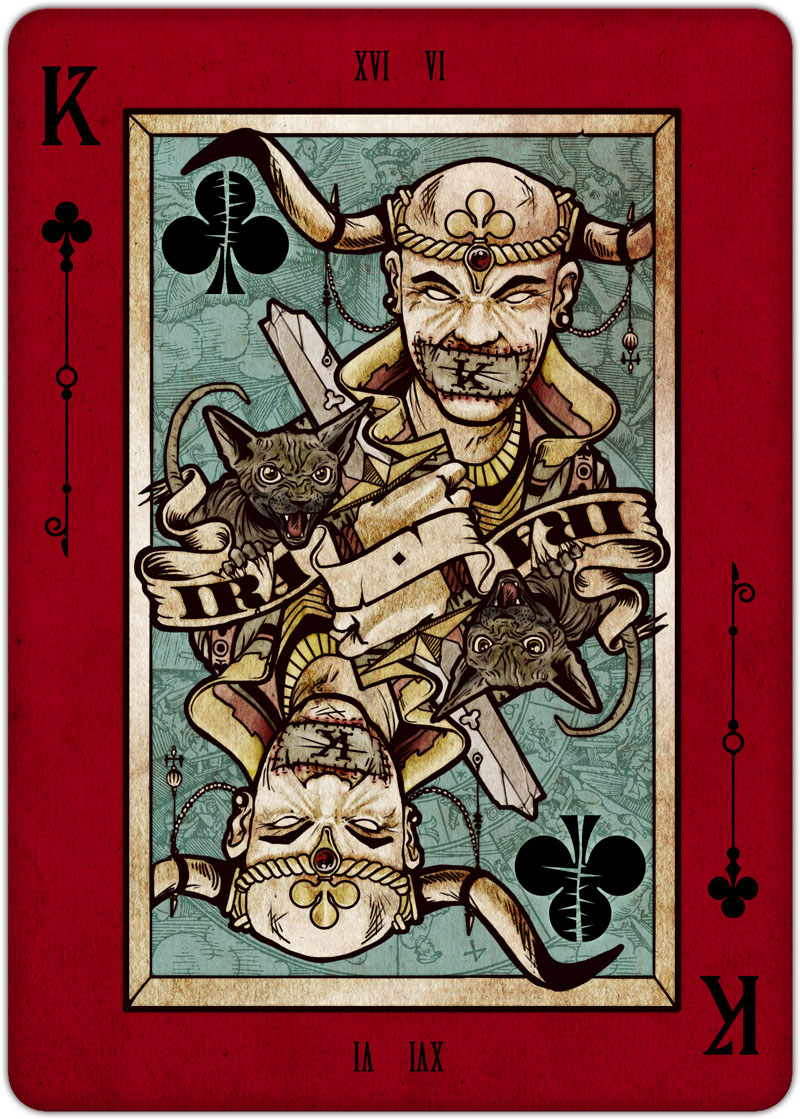Requiem Playing Cards on Behance