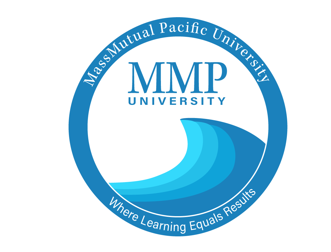 logo branding  brand pacific waves MassMutual   University graphic design  adobe Illustrator