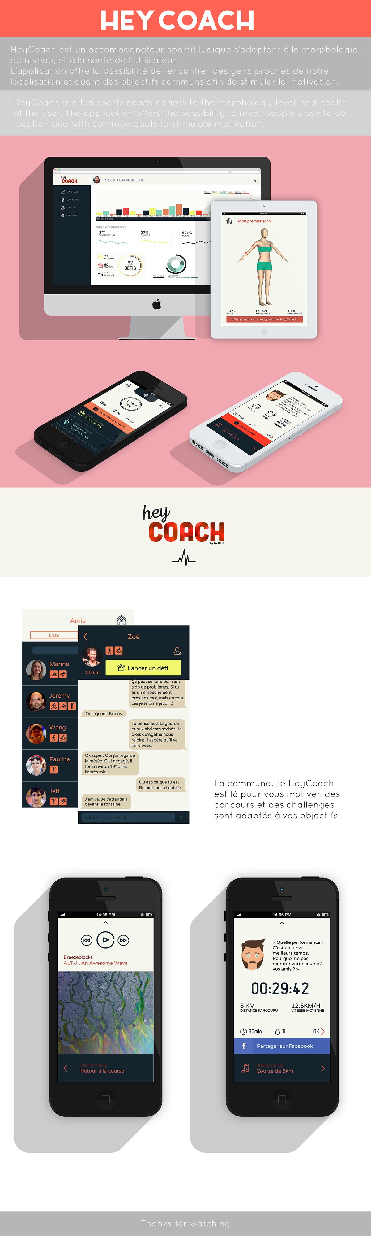 Coach sport nettelo Data scan 3D Health